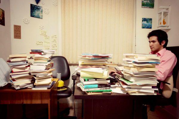در جستجوی زمانی برای خواندن همۀ کتابها