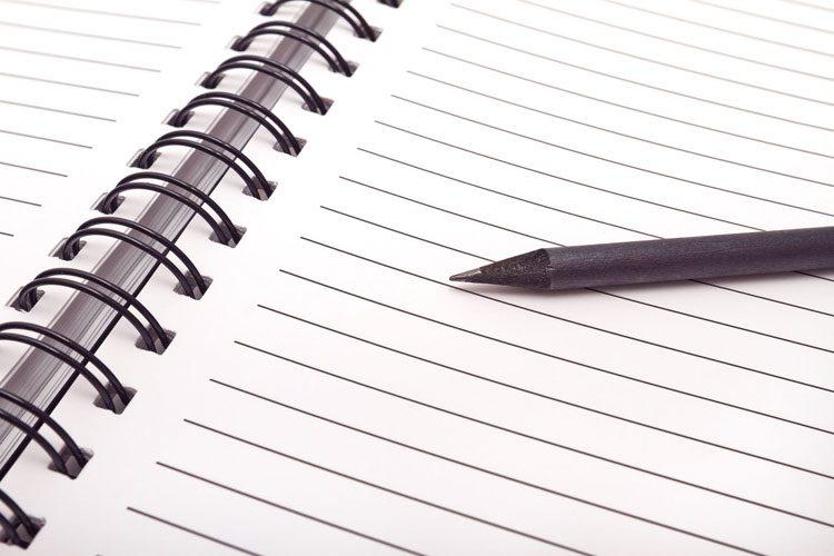 من مینویسم تا...