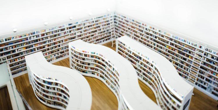 کتابخانهای با یک کتاب